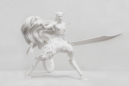 Chen Tianzhuo 陈天灼, 'Against the blade of honour - Disciple (Level 2)', 2020