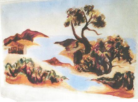 Jackson Pollock, 'Vineyard Inlet with Tree, CR#932', 1934-1938