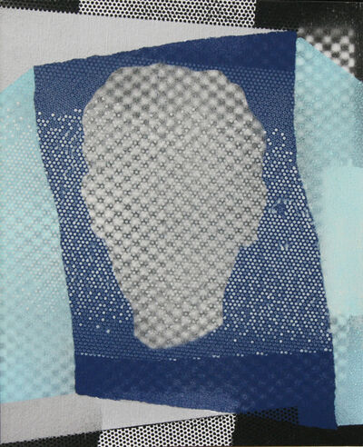 Steve Mennie, 'Projected Head'