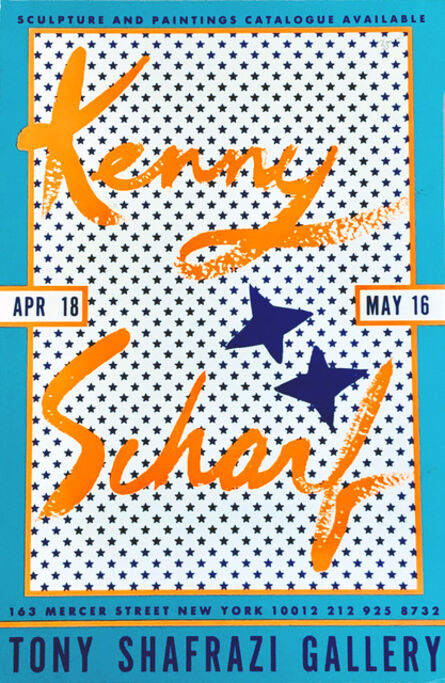 Kenny Scharf, 'Kenny Scharf at Tony Shafrazi Gallery 1987', 1987