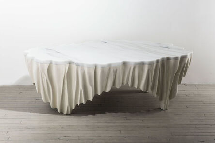Markus Haase, 'Markus Haase, Ash and Marble Aeolian Table, USA, 2016', 2016
