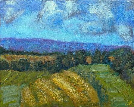 Simon Carr, 'Drying Hay', 2019