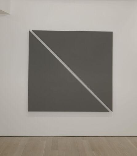 Alan Charlton, 'Single Diagonal', 2011