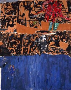 Allan Kaprow, 'Blue Blue Blue', 1956
