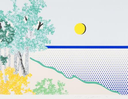 Roy Lichtenstein, 'Untitled (Sea)', 1996
