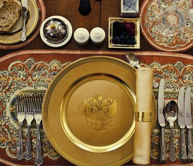 Davide Monteleone, 'Putin's table set ', 2017