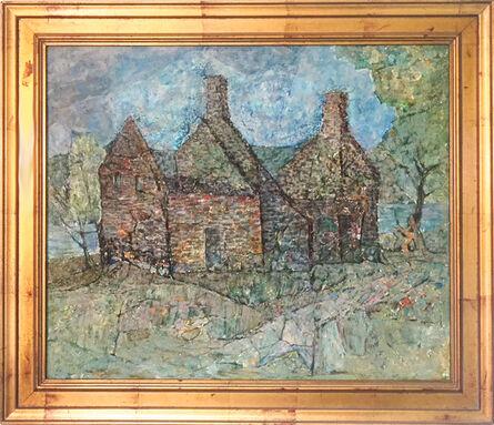 Wesley Lea, 'Untitled (Abandoned Stone House)', 1930s-1940s