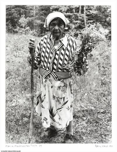 Nancy Wood, 'Maria Mondragon, Taos Pueblo', 1988