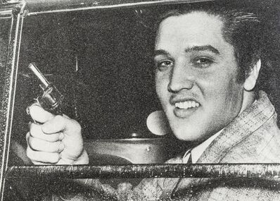 Russell Young, 'Elvis Pistol', 2011