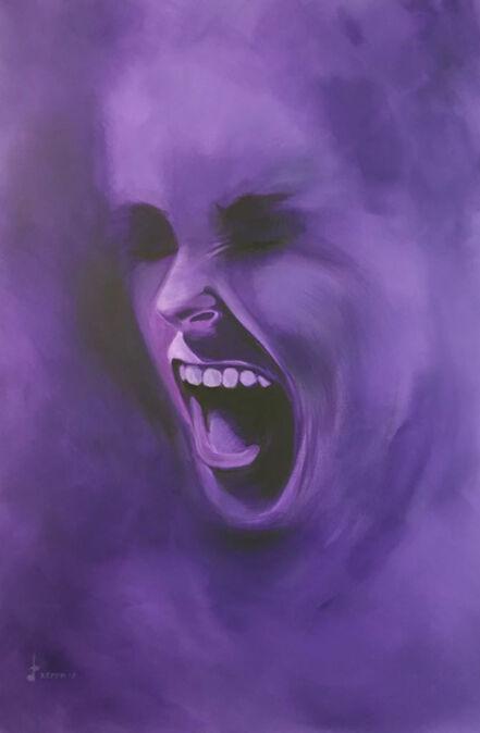 Lakshmi Mohanbabu, 'Smoke Screen - Dark Purple', 2018