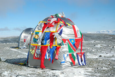 Lucy + Jorge Orta, 'Antarctic Village - No Borders, Dome Dwelling', 2007
