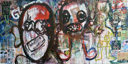 Aboudia, 'Art Nouchy', 2012