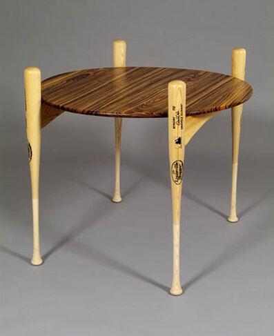 Margery Goldberg, 'Zebra Slugger (Game Table)'