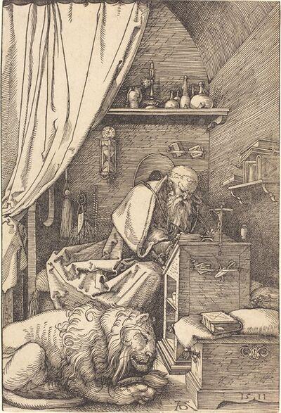 Albrecht Dürer, 'Saint Jerome in His Cell', 1511