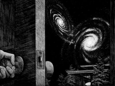 David Trulli, 'Galaxy Door', 2010