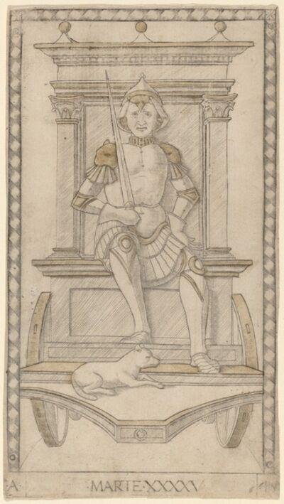 Master of the E-Series Tarocchi, 'Marte (Mars)', ca. 1465
