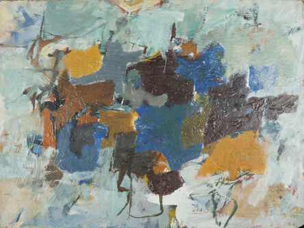 Henry Botkin, 'Double Green', 1957