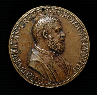 Leone Leoni, 'Gianello della Torre of Cremona, 1500-1585, Engineer in the Service of Charles V [obverse]'