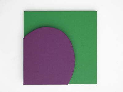 Gavin Turk, 'Small Purple on Green', 2019