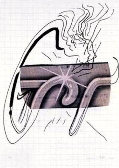 Sigmar Polke, 'Vermutung', 2002
