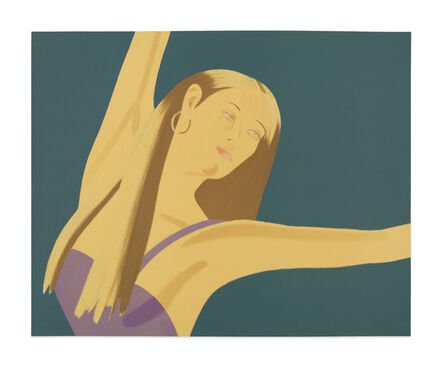 Alex Katz, 'Night: William Dunas Dancers No. 4', 1983