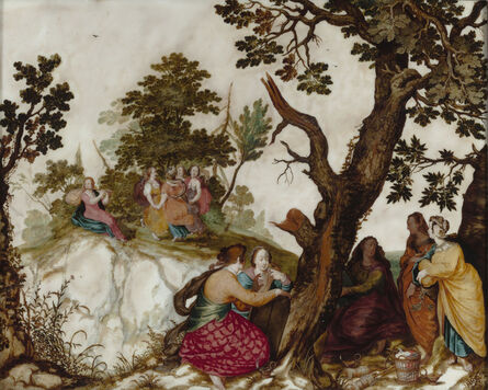 Pieter Lisaert, 'The Parable of the Wise and Foolish Virgins', ca. 1620