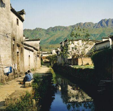 Yihua Wang, 'Chores at the River', 2014
