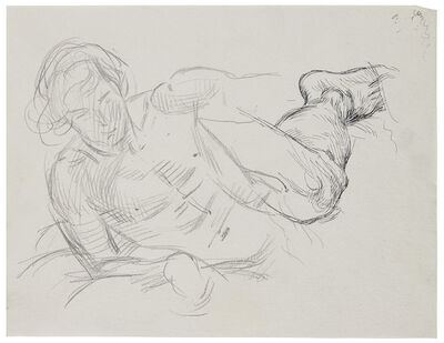 Paul Cadmus, 'Study for David and Goliath', ca. 1964