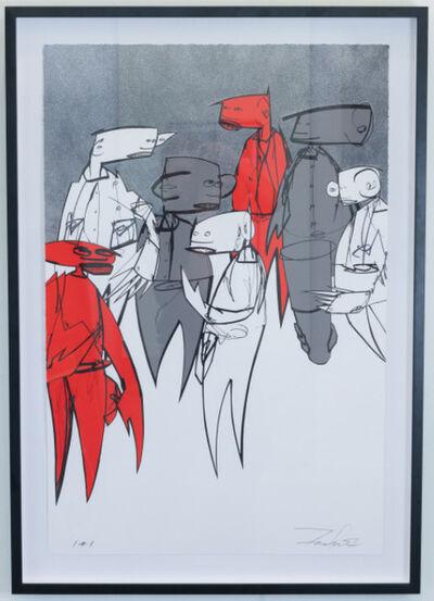 Futura, 'Crowd Control (Variant)', 2016