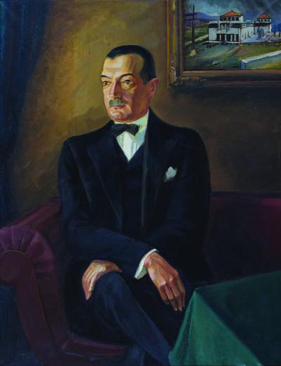 Tomislav Krizman, 'Portrait of Ivo Tartaglia', 1930