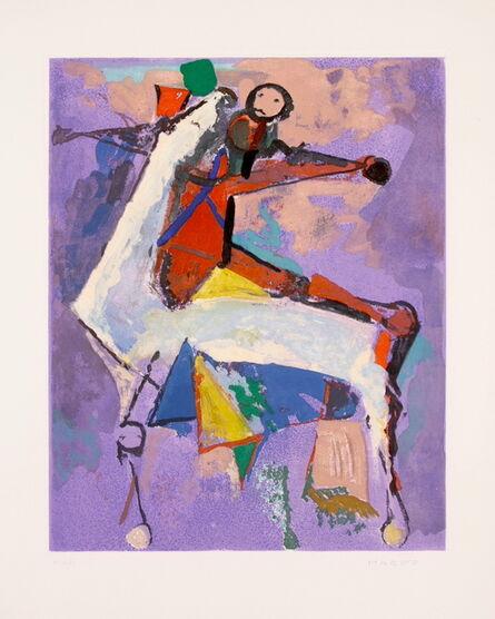 Marino Marini, 'Shakespeare I, Plate VIII', 1977