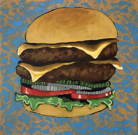 Frank Buffalo Hyde, 'Double Buffalo Burger I', 2016