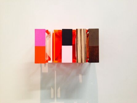 Nahum Tevet, 'Time After Time (with Red and Pink)', 2014