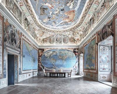 David Burdeny, 'Map Room, Caprarola, Italy', 2016