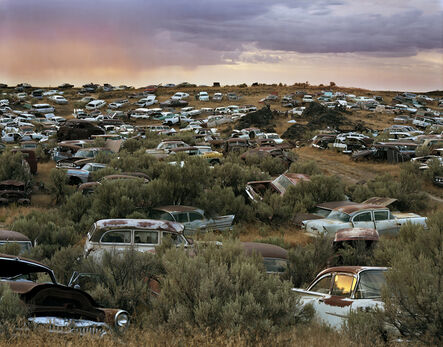 Laura McPhee, 'L&L Classic Auto Salvage, Gooding County, Idaho, 2015 3/5'