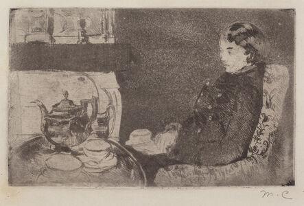 Mary Cassatt, 'Lydia at Afternoon Tea', 1882