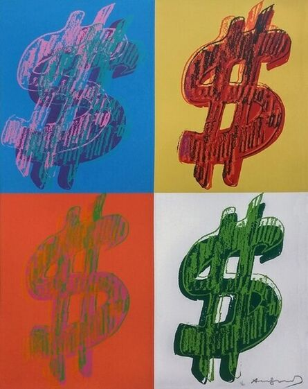 Andy Warhol, 'Dollar Sign Quadrant', 1982