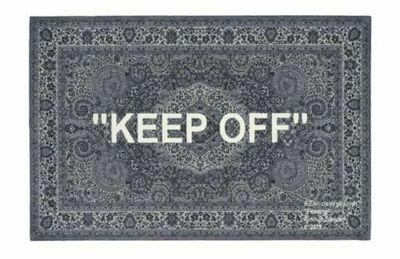 "Virgil Abloh, '""Keep Off""', 2019"