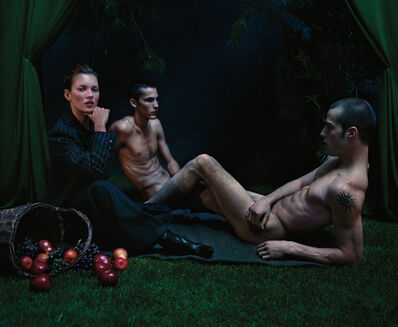 Mario Sorrenti, 'Kate Moss Luncheon on the Grass', 1999