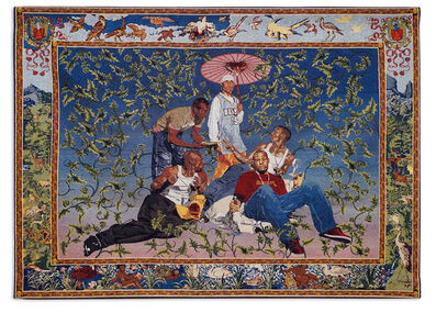 Kehinde Wiley, 'The Gypsy Fortune Teller', 2007