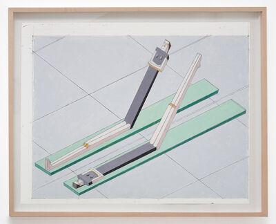 Mernet Larsen, 'Sit Ups Leg Lifts (Study)', 2012