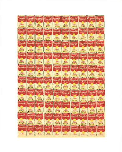 Andy Warhol, '100 Cans', 1991
