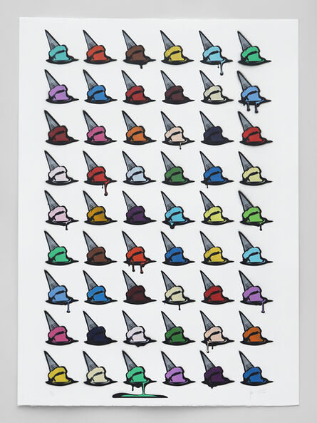 Joe Iurato, 'Drippin' Dots (3)', 2020