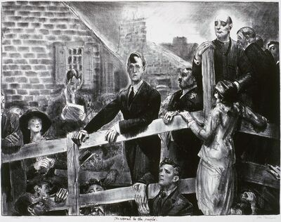 George Bellows, 'The Appeal to the People'