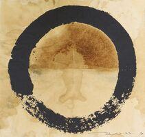Takashi Murakami, 'Coffee Zen, Enso: Black', 2020