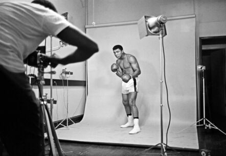 Thomas Hoepker, 'Muhammad Ali poses for a picture', 1966