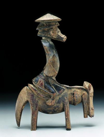 'Statuette équestre syonfolo (equestrian figure syonfolo)', c. 1920