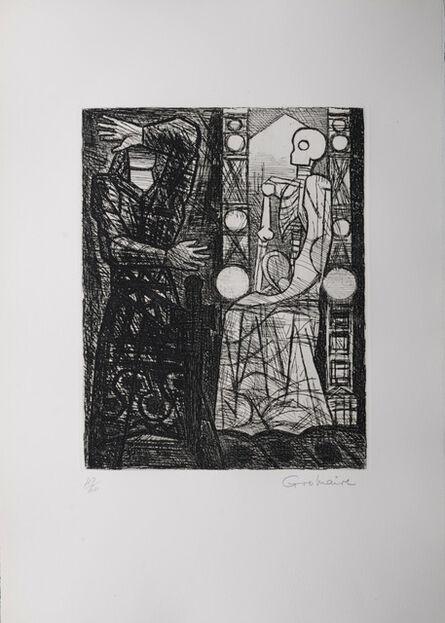 Marcel Gromaire, 'Macbeth : Le spectre de Banquo', 1958