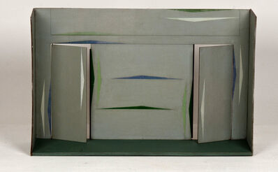 Lygia Clark, 'Maquete para interior', 1955
