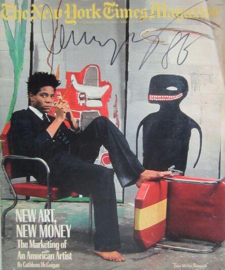 Jean-Michel Basquiat, 'The New York Times Magazine', 1985